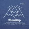 Kép 2/5 - Mountains – férfi póló, farmerkék