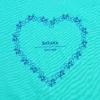 Kép 2/5 - Bike lover – női póló, karibi-kék