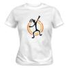 Kép 1/5 - Baraka brand – női póló, fehér