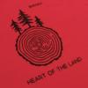 Kép 5/6 - Heart of the Land – női póló, piros