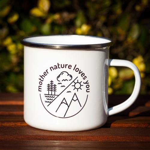 Mountain Hippy fémbögre – Mother Nature Loves You