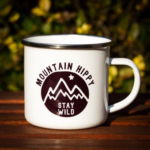 Mountain Hippy fémbögre – Stay Wild