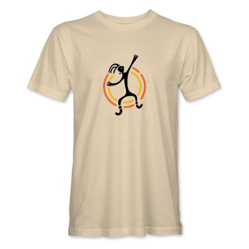 Baraka brand – férfi póló, bézs